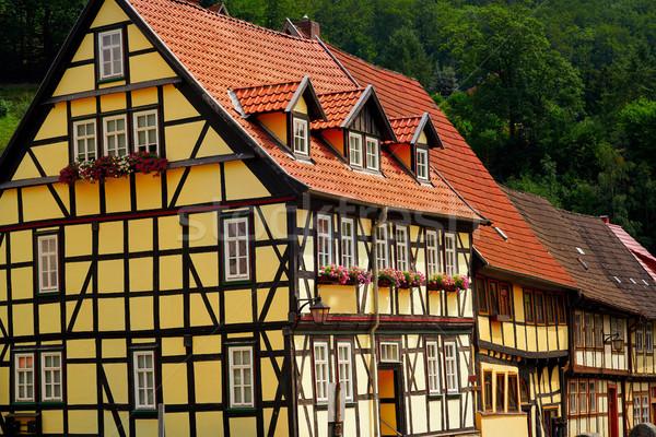 гор Германия синий путешествия Европа красивой Сток-фото © lunamarina
