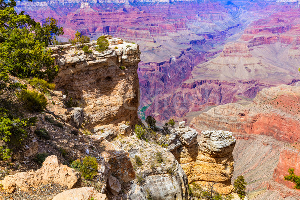 Arizona Grand Canyon Park Mother Point and Amphitheater Stock photo © lunamarina