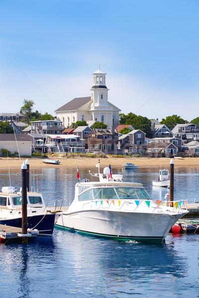 Cape cod port Massachusetts USA plage nature Photo stock © lunamarina