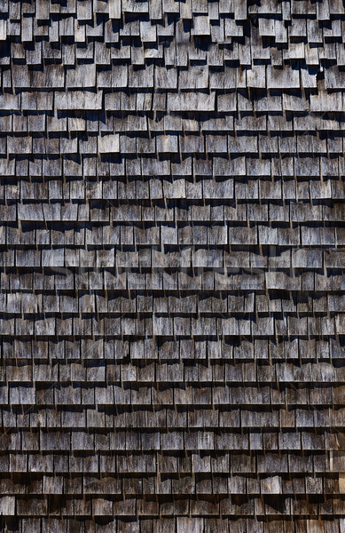 Stock photo: Cape Cod wooden wall detail Massachusetts