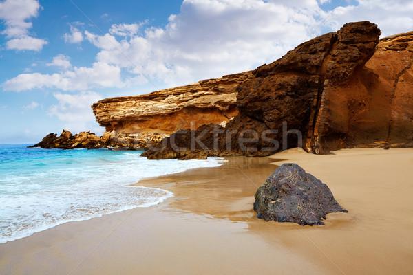 La strand hemel water landschap Stockfoto © lunamarina