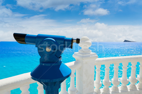 Benidorm Mirador del Castillo lookout Alicante Stock photo © lunamarina
