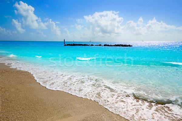 Chiave ovest spiaggia fort parco Florida Foto d'archivio © lunamarina