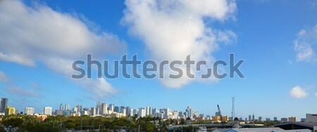 Miami centrum skyline panoramisch Florida Stockfoto © lunamarina