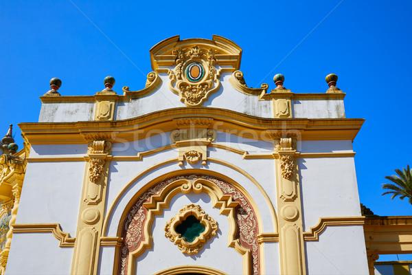 Cassino la Espanha céu edifício cidade Foto stock © lunamarina