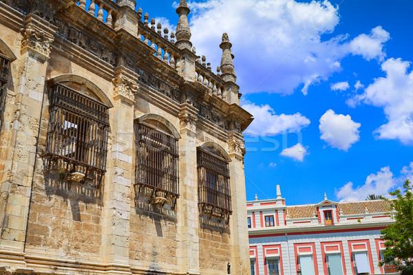 Seville cathedral detail Sevilla Andalusia Stock photo © lunamarina