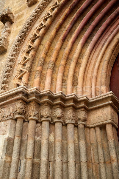 Marina iglesia puerta España ciudad Foto stock © lunamarina
