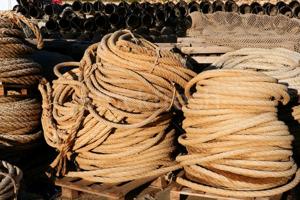Marinha fio profissional pescador abstrato Foto stock © lunamarina