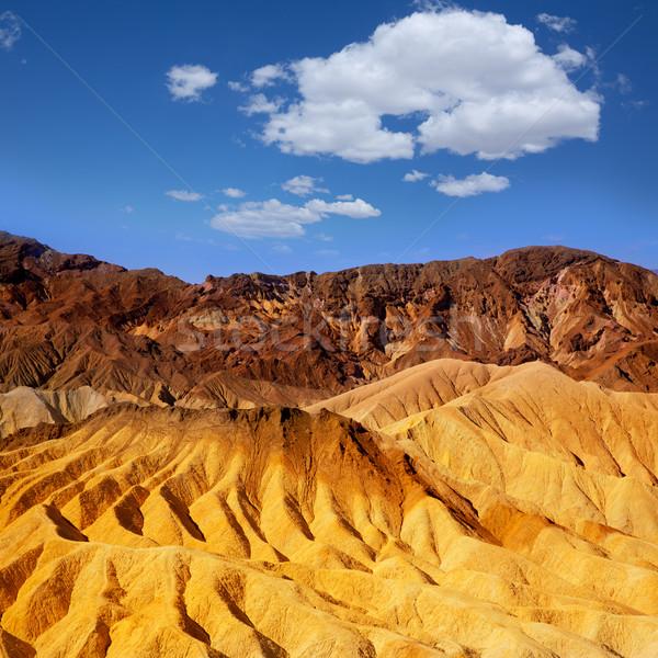 Morte vale parque Califórnia ponto céu Foto stock © lunamarina