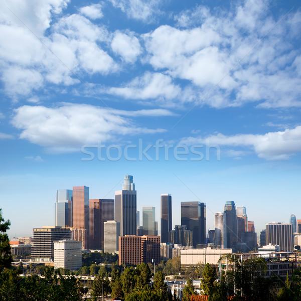 Centrum la Los Angeles skyline Californië stadsgezicht Stockfoto © lunamarina
