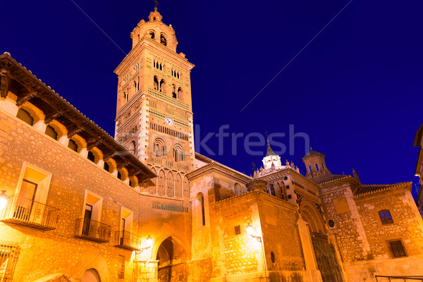 Katedrális mikulás unesco örökség Spanyolország épület Stock fotó © lunamarina
