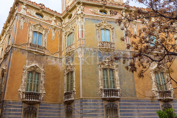 Valencia paleis gebouw architectuur marmer Stockfoto © lunamarina