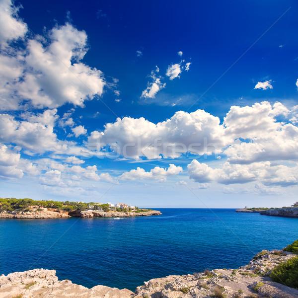 Strand majorca eiland Spanje landschap zomer Stockfoto © lunamarina