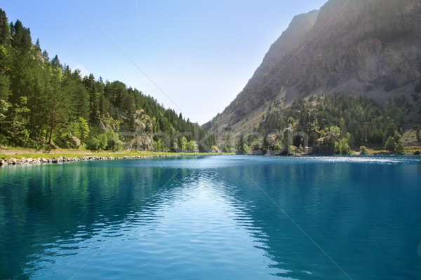 Panticosa balneary lake Pyrenees Huesca Stock photo © lunamarina