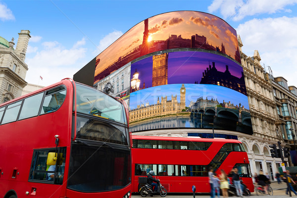 Cyrku Londyn cyfrowe zdjęcia mój własny Zdjęcia stock © lunamarina