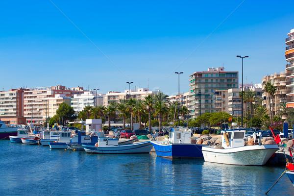 Alicante Santa Pola port marina from valencian Community Stock photo © lunamarina