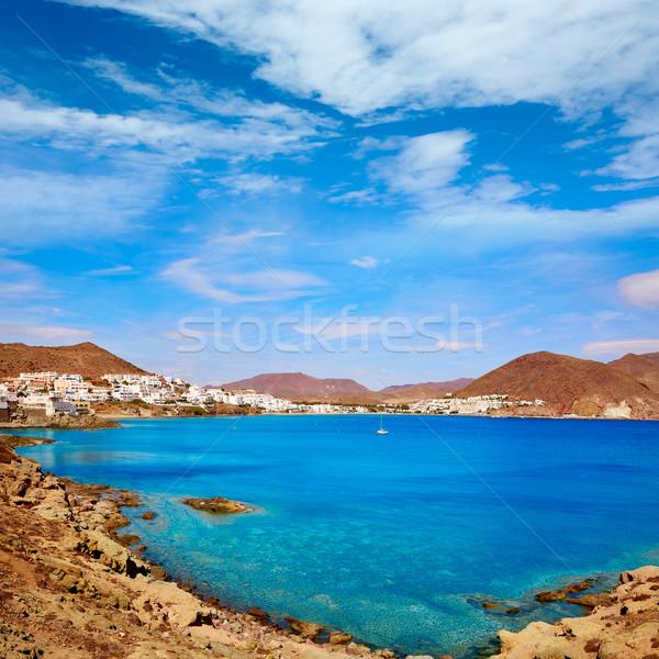 Almeria Cabo Gata San Jose beach village Spain Stock photo © lunamarina