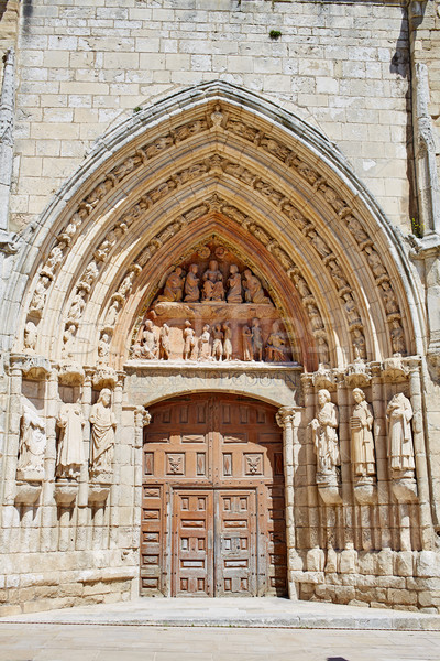 Burgos San Esteban church facade Castilla Spain Stock photo © lunamarina