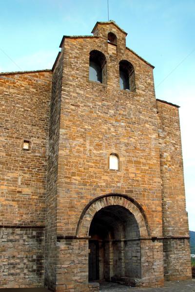 Stock fotó: Kolostor · templom · tájkép · kő · építészet · tető