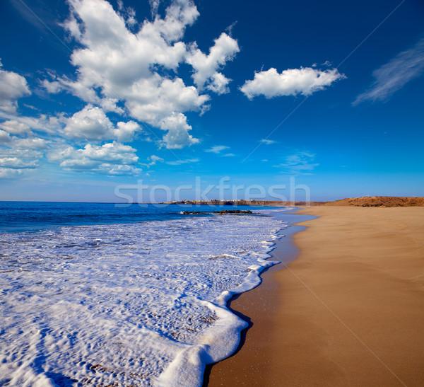 Praia canárias Espanha água sol paisagem Foto stock © lunamarina