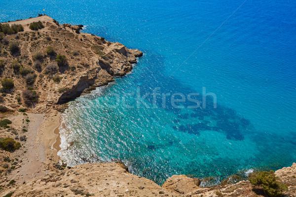 ビーチ 地中海 スペイン 空 夏 海 ストックフォト © lunamarina