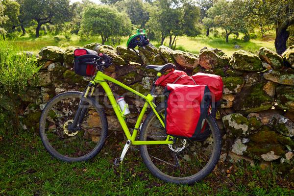 паломник велосипедов способом Испания природы Сток-фото © lunamarina