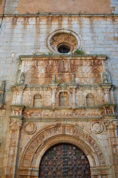 Santos de Maimona church Spain Extremadura Stock photo © lunamarina