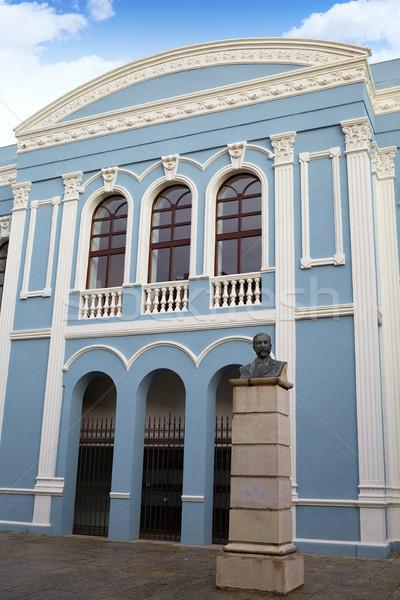 Zamora Ramos Carrion theater and Diputacion Stock photo © lunamarina