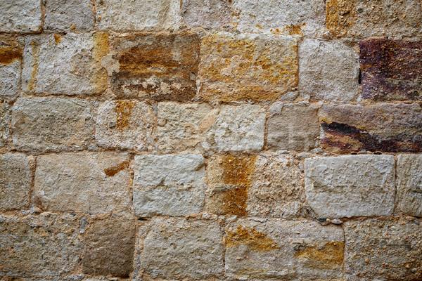 Forteresse mur Espagne la façon château Photo stock © lunamarina