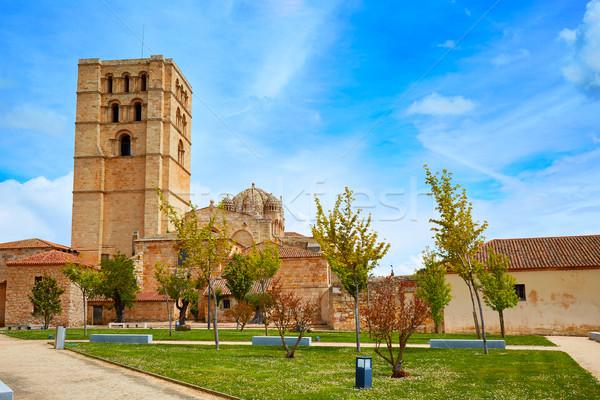 Katedrális Spanyolország LA út épület város Stock fotó © lunamarina