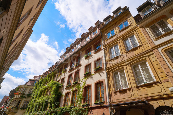 Strasbourg city facades in Alsace  Stock photo © lunamarina