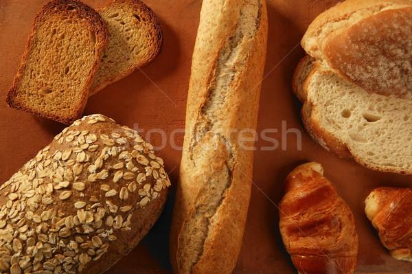 Varied bread still life Stock photo © lunamarina