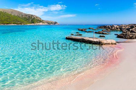 ibiza Port de Sant Miquel San Miguel beach in Balearic islands Stock photo © lunamarina