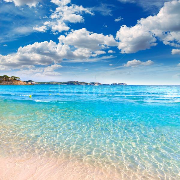 Strand majorca eilanden Spanje landschap zee Stockfoto © lunamarina