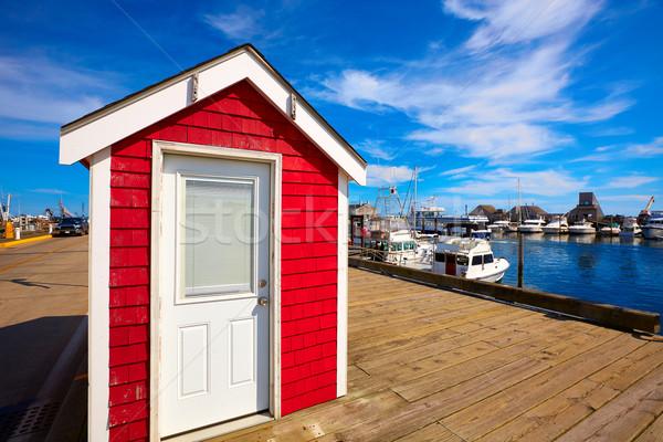 Cape cod liman Massachusetts ABD plaj doğa Stok fotoğraf © lunamarina