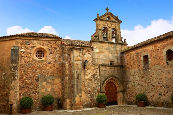 Caceres St Paul convent in Spain Extremadura Stock photo © lunamarina