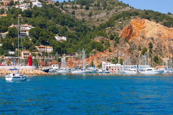 Porta marina vacanze destinazione bene spiaggia Foto d'archivio © lunamarina