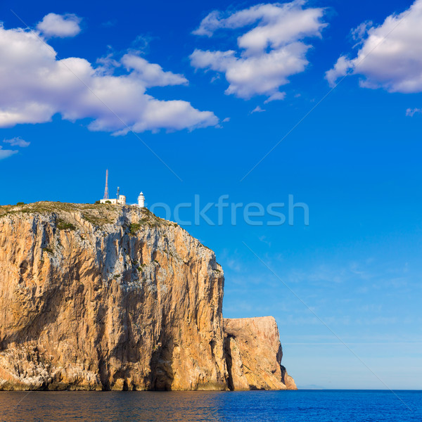 Cabo de San Antonio cape in Javea Denia at Spain Stock photo © lunamarina