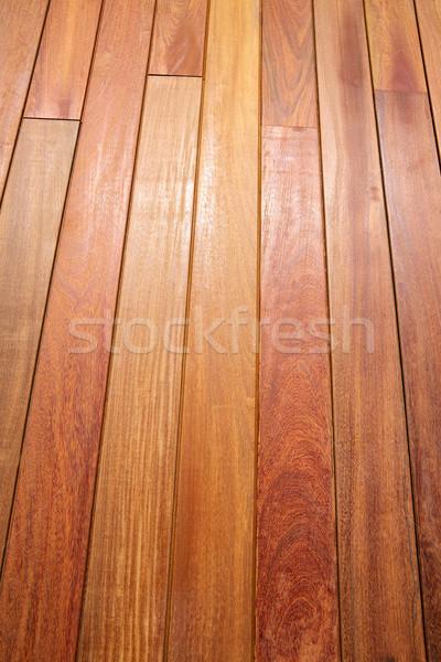 Holz Deck Muster tropischen Holzstruktur Textur Stock foto © lunamarina