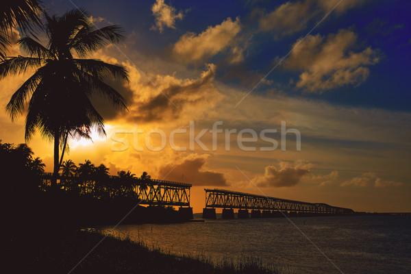 Florida Keys Bahia Honda Park US Stock photo © lunamarina