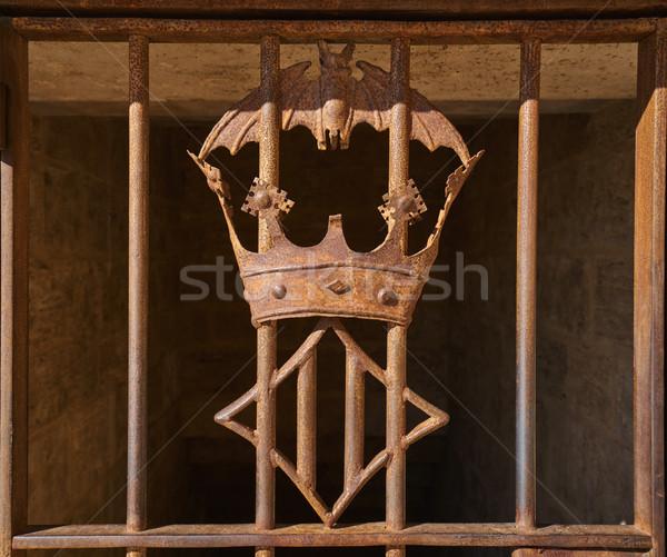 Walencja żelaza miasta godło Zdjęcia stock © lunamarina