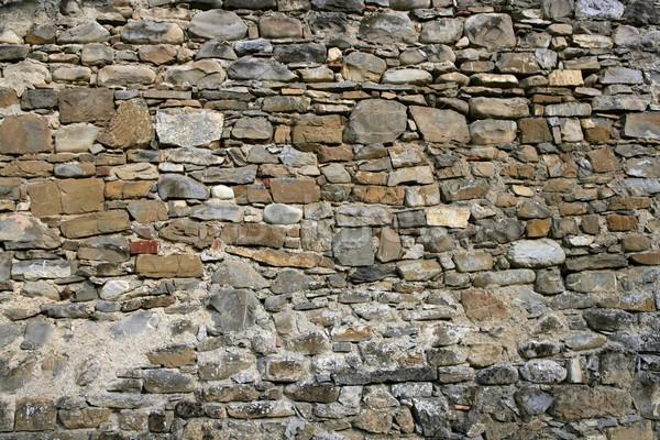 Antique grunge vieux gris mur de pierre maçonnerie Photo stock © lunamarina