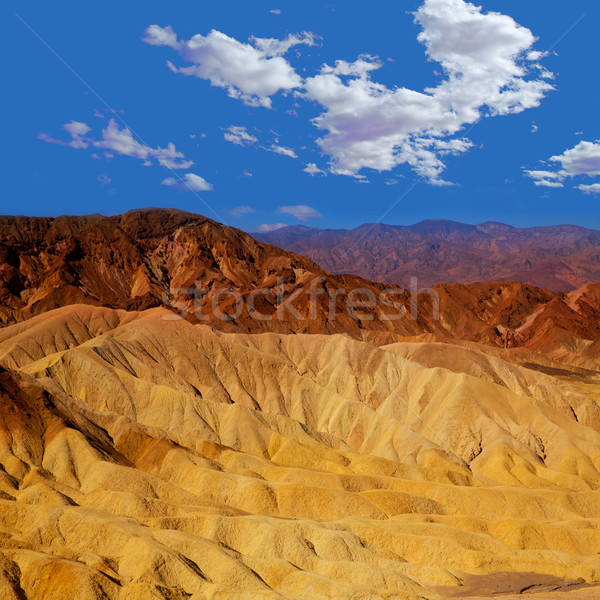 Death Valley National Park California Zabriskie point Stock photo © lunamarina