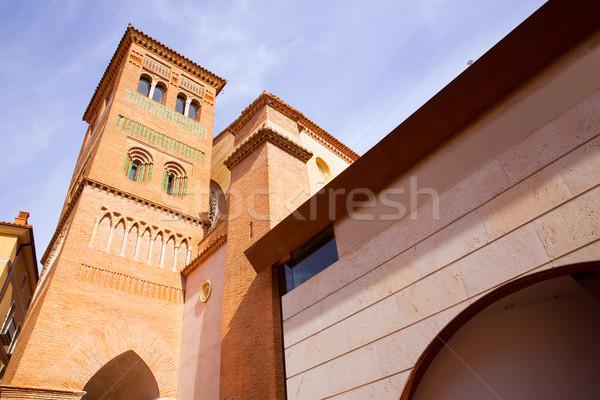 Aragon Teruel Los Amantes mausoleum in San Pedro Mudejar Stock photo © lunamarina