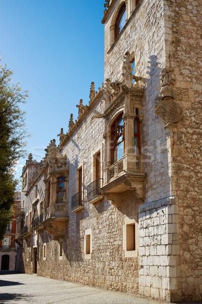 Casa de los Condestables house in Burgos Stock photo © lunamarina