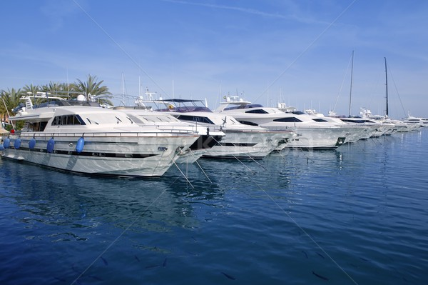Majorque port marina plage eau soleil Photo stock © lunamarina