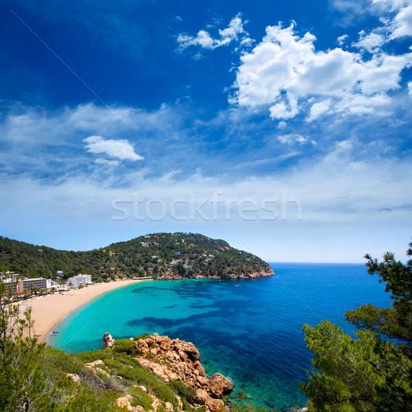 Ibiza caleta de Sant Vicent cala San vicente san Juan Stock photo © lunamarina
