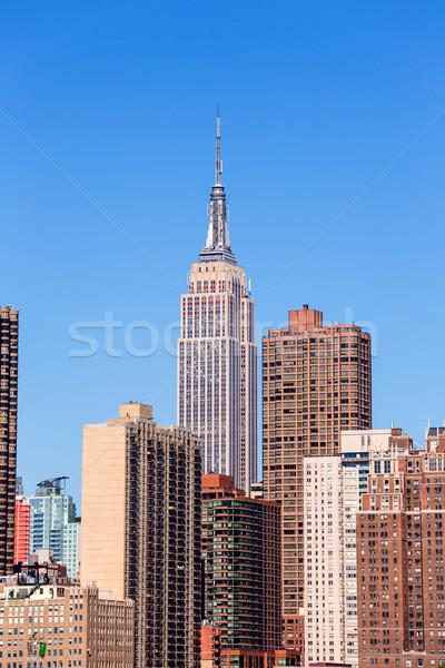 Stok fotoğraf: Empire · State · Binası · Manhattan · New · York · ABD · iş · Bina