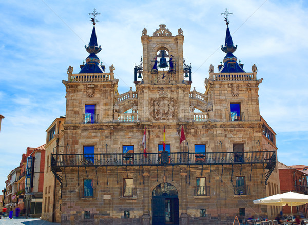 Astorga in Leon city town hall  Stock photo © lunamarina