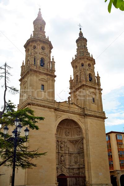 Katedrális mikulás LA út szent város Stock fotó © lunamarina